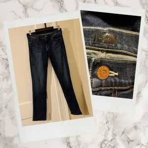 MOTHER ▪ 'The Rascal' Straight Leg Darkwash Jeans